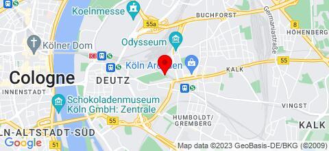 Google Map für Monteurzimmer Vesper