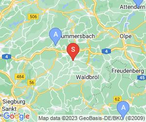 Karte für Wiehler Tropfsteinhöhle