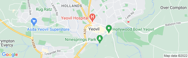 Map Of Yeovil