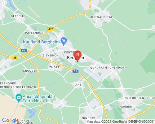 Google Karte von Rohrreinigung Bergheim