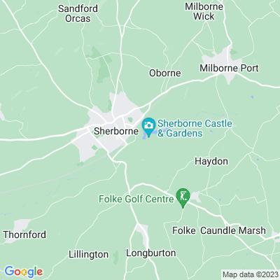 Sherborne Castle Location