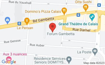 Forum Gambetta 23 Boulevard Léon Gambetta62100 Calais