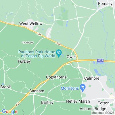 Paultons Location