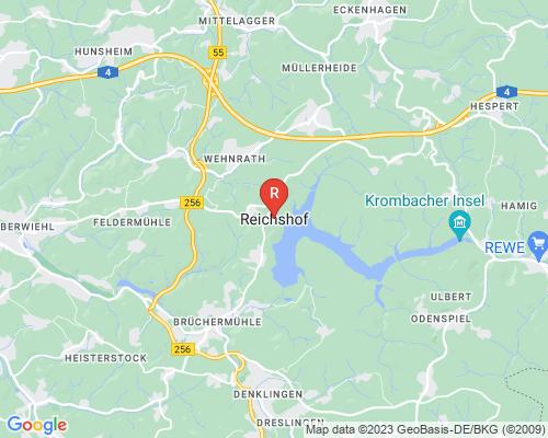 Google Karte von Rohrreinigung Reichshof