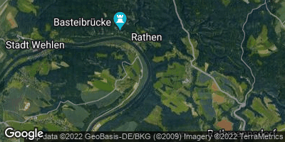 Google Map of Kurort Rathen