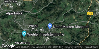Google Map of Dreisbach