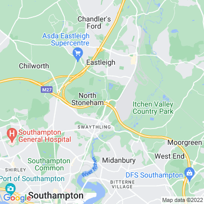 South Stoneham Location