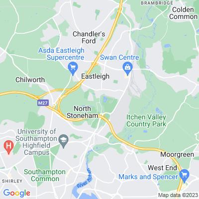 North Stoneham Location