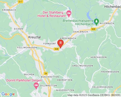 Google Karte von Rohrreinigung Kreuztal