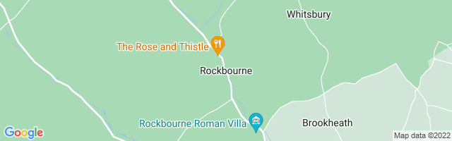 Map Of Rockbourne