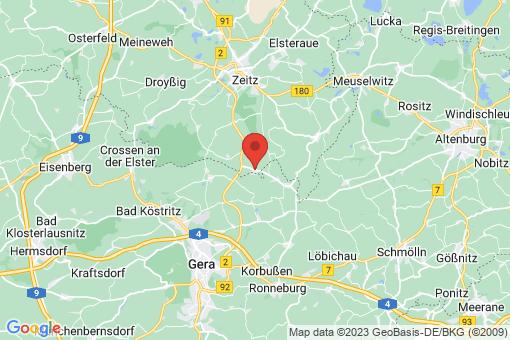 Karte Heuckewalde