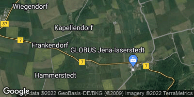 Google Map of Hohlstedt bei Weimar