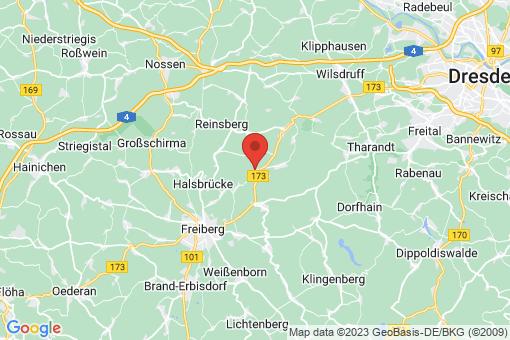 Karte Niederschöna