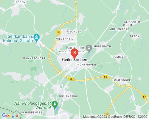 Google Karte von Rohrreinigung Geilenkirchen