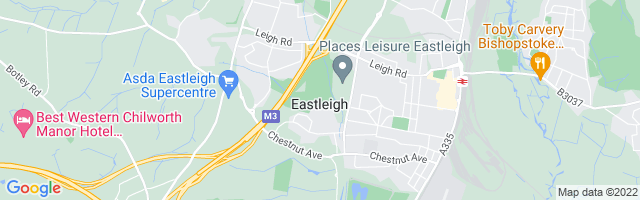 Map Of Eastleigh