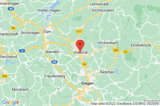 Karte Kreuztal