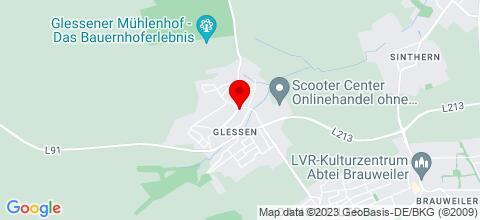 Google Map für Modernes Ferienhaus Bergheim-Glessen