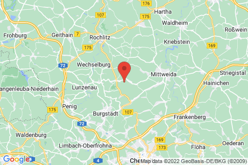 Karte Königshain-Wiederau