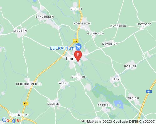 Google Karte von Rohrreinigung Linnich