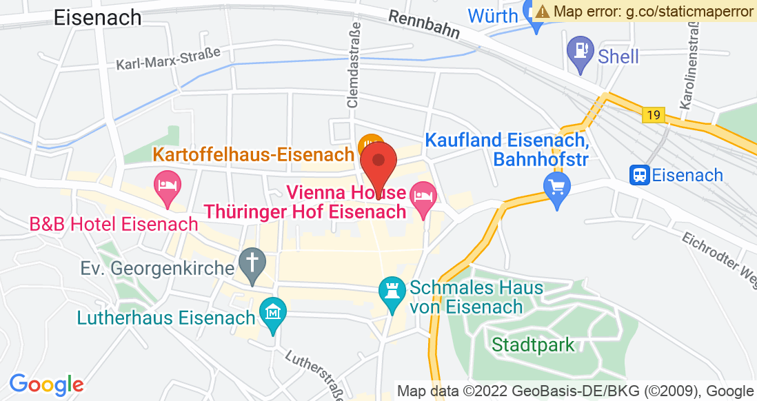 Google Map DE/JAVU by Sportsline, Inh. Joachim Günther West