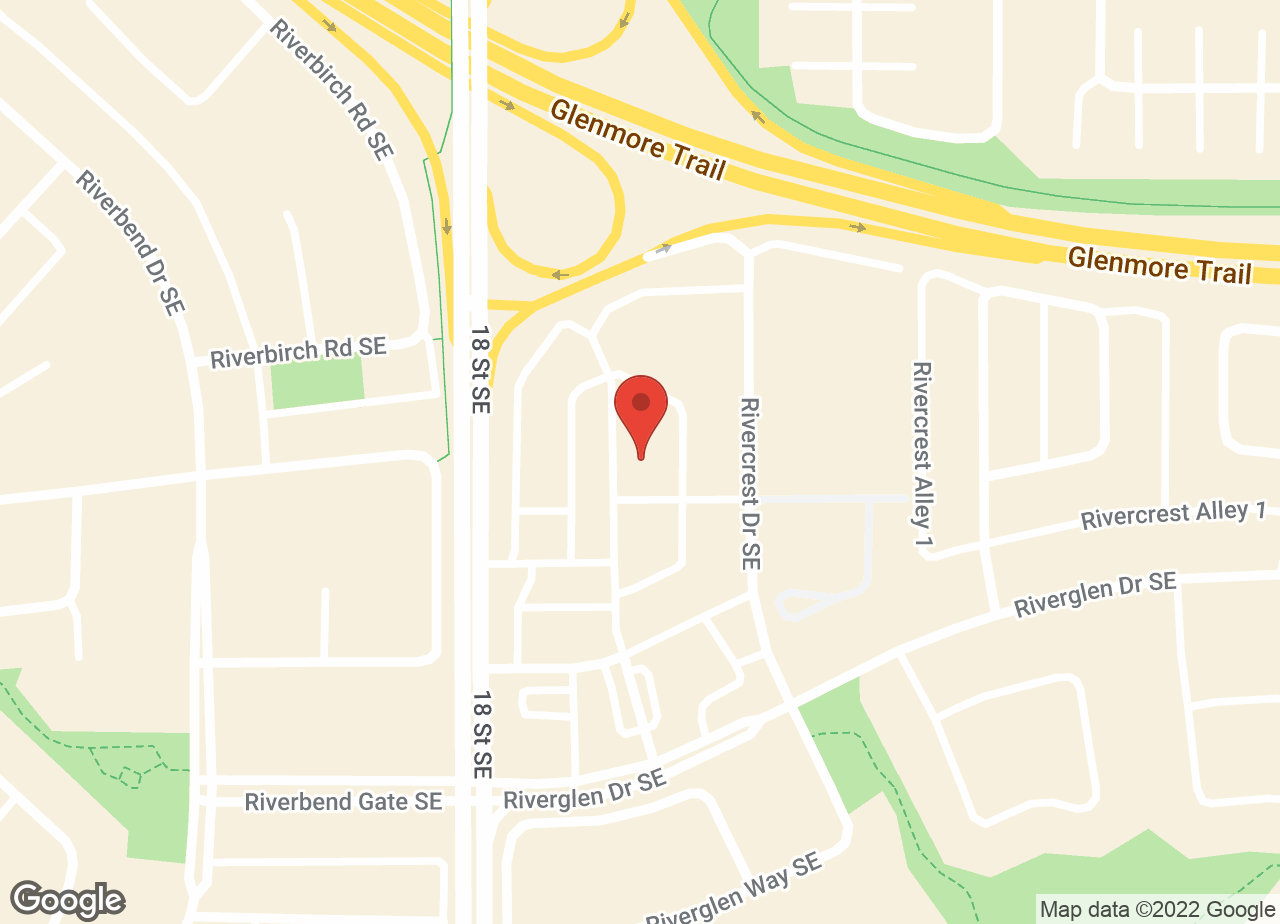 Google Map of Riverbend Animal Hospital