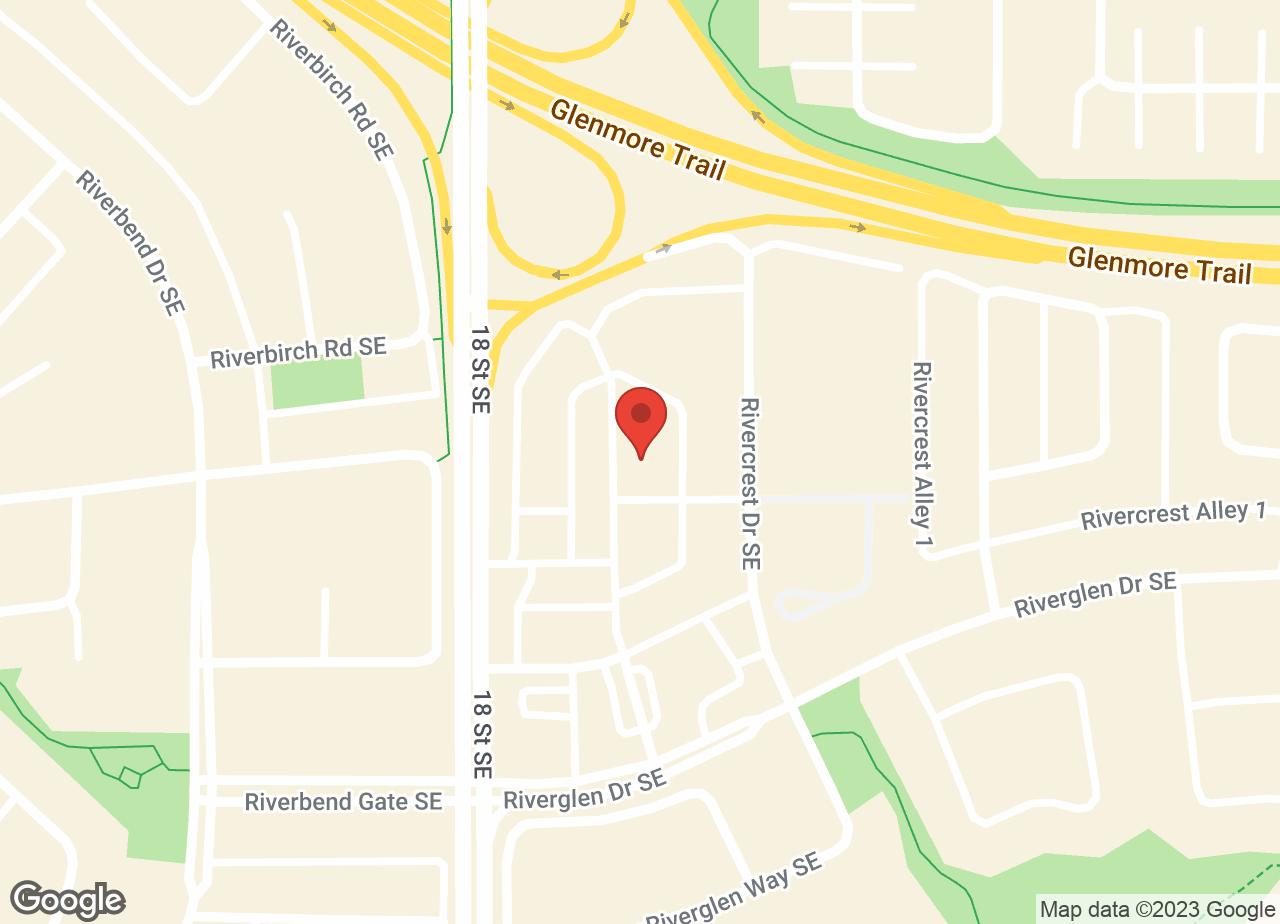 Google Map of Riverbend Animal Hospital