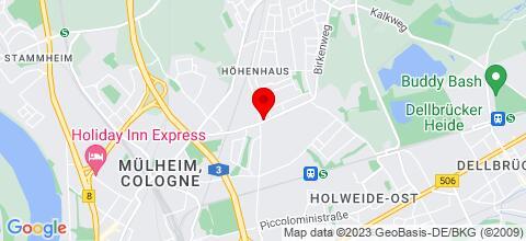 Google Map für Monteurzimmer/Apartment