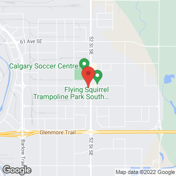 Map of Tim Hortons at 5279 72nd Ave Se, Calgary, AB T2C 3H3