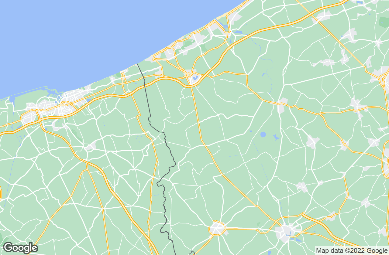Google Map of الفيرينجيم