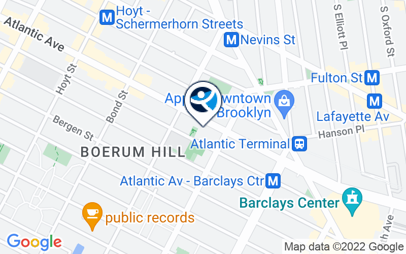 The Brooklyn Center for Psychotherapy & New Directions Location and Directions