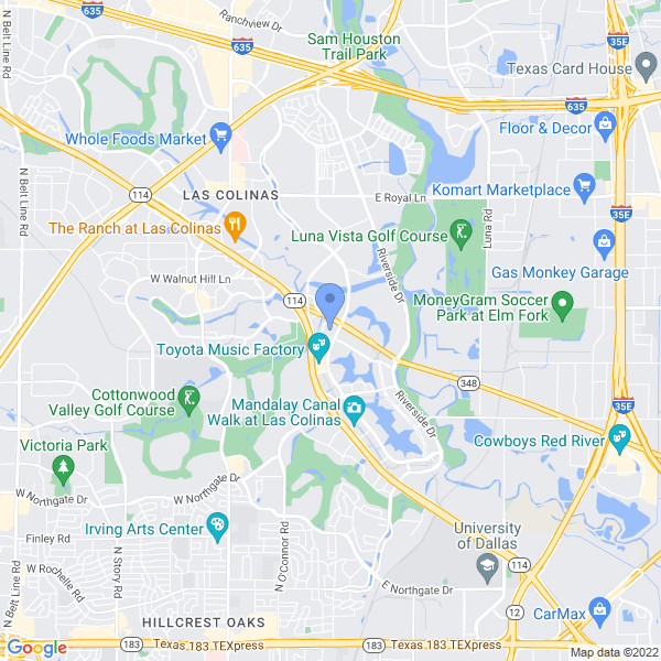 Dallas Comic Con: Fan Days Map