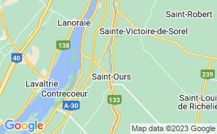 Map of Camping Domaine Des Érables - Parkbridge
