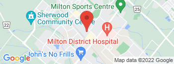 Google Map of 500+Bronte+Street+South%2CMilton%2COntario+L9T+1Y8