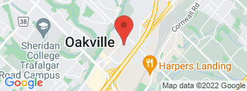 Google Map of 500+Iroquois+Shore+Road%2COakville%2COntario+L6K+3S3