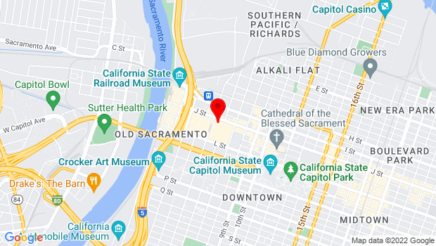 Google Map of 500 J St., Sacramento, CA