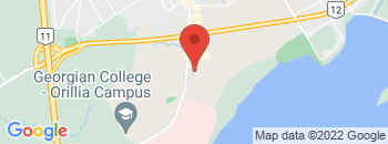 Google Map of 500+Memorial+Avenue%2COrillia%2COntario+L3V+6H1