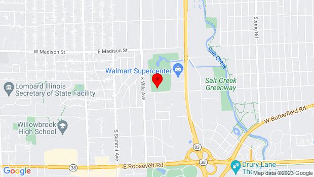 Google Map of 500 Van Buren St, Villa Park, IL 60181