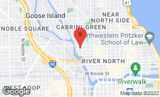 Map of 500 West Superior Street #607 CHICAGO, IL 60654