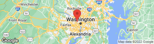 Map of 5000 KLINGLE STREET NW WASHINGTON, DC 20016