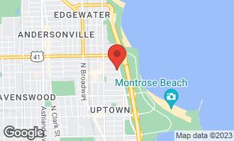 Map of 5000 North Marine Drive 2C CHICAGO, IL 60640