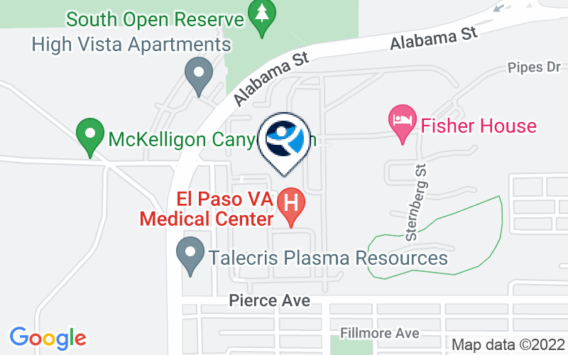 El Paso VA Health Care System - Medical Center Location and Directions