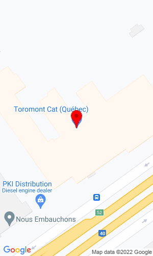 Google Map of Toromont Cat (Quebec) 5001 Trans-Canada Hwy, Pointe-Claire, QC, H9R 1B8