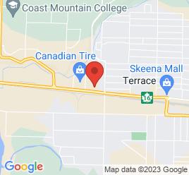 Google Map of 5004+Highway+16+West%2CTerrace%2CBritish+Columbia+V8G+5S5