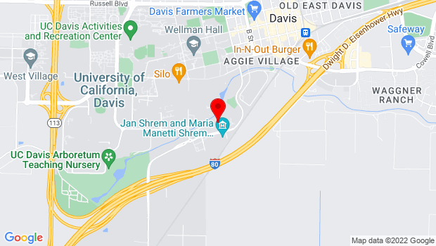 Google Map of 501 Alumni Ln, Davis, CA 95616