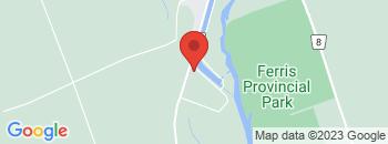 Google Map of 501+Grand+Road%2CCampbellford%2COntario+K0L+1L0