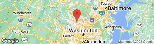 Map of 501 HUNGERFORD DRIVE #241 ROCKVILLE, MD 20850