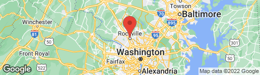 Map of 501 HUNGERFORD DRIVE #361 ROCKVILLE, MD 20850