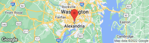 Map of 501 SLATERS LANE #706 ALEXANDRIA, VA 22314