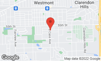 Map of 501 South Cass Avenue WESTMONT, IL 60559