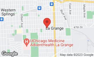 Map of 501 South Kensington Avenue LA GRANGE, IL 60525
